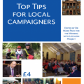 Top Tips For Local Campaigners book cover