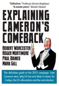 Explaining Cameron's Comeback - book cover