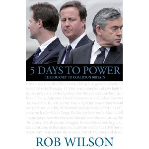 5 Days to Power by Rob Wilson - book cover