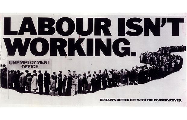 Labour Isn't Working billboard poster