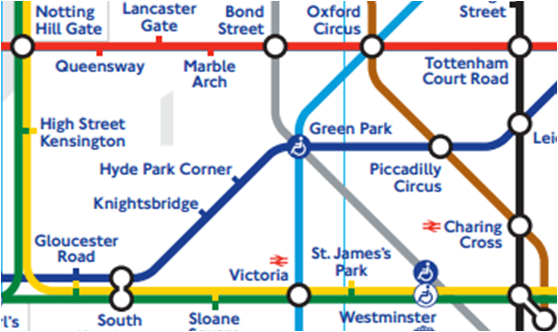 The New London Tube Map June 2012 Version