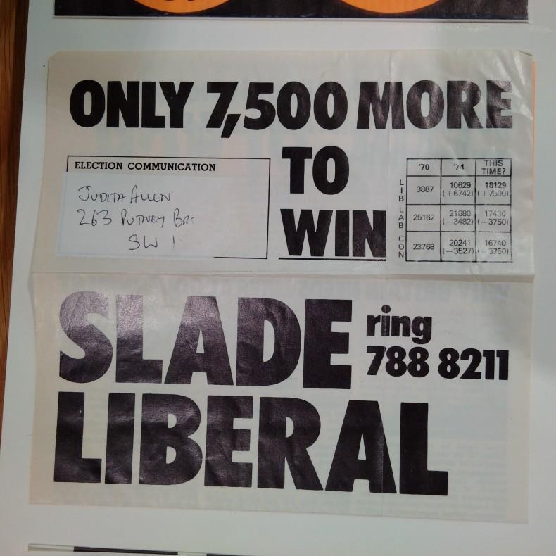 Adrian Slade - Richmond - October 1974